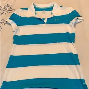 Really cute NIKE polo with short sleeves!